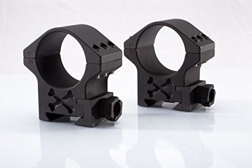 Talley Rifle Scope 2 Talley BAT35X 35mm Tactical Ring (Black Armor) (Extra High) 1.44 Height