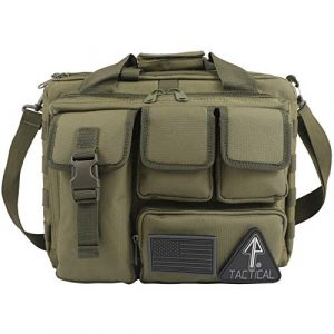 14er Tactical Tactical Backpack 1 14er Tactical Range Bag | Custom Pistol & Ammo Pockets | 600D Ballistic Polyester & Self-Healing Zippers | Flag Patch & MOLLE Compatible PALS Webbing | Perfect Shooting Duffle