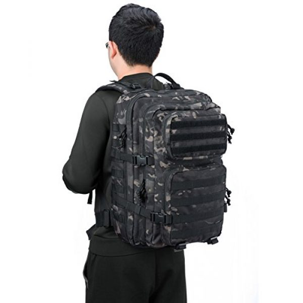 REEBOW GEAR Tactical Backpack 3 REEBOW GEAR Military Tactical Backpack 3 Day Assault Pack Army Molle Bag Backpacks Rucksack