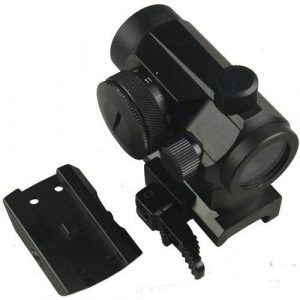 DB TAC INC Rifle Scope 1 DB TAC Quick Release Micro Red Dot Sight with an Extra Low Profile Base