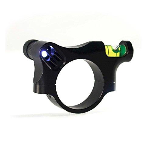 IOTA Rifle Scope 1 IOTA Anti-Cant Scope Level with LED Turret and Bubble Illumination - 30mm, 34mm, 1 inch - ZEROLIGHT Scope Ring Outdoors