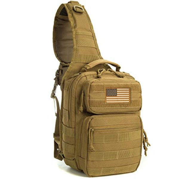 AXEN Tactical Backpack 3 AXEN Tactical Sling Bag Pack Military Rover Shoulder Sling Backpack Small