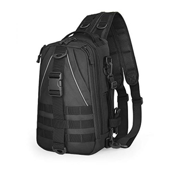EUTOPETIAN Tactical Backpack 1 EUTOPETIAN Tactical-Backpack for Survival Military-Assault Pack Molle-Rucksack Bag Gear for Outdoor Hiking Camping