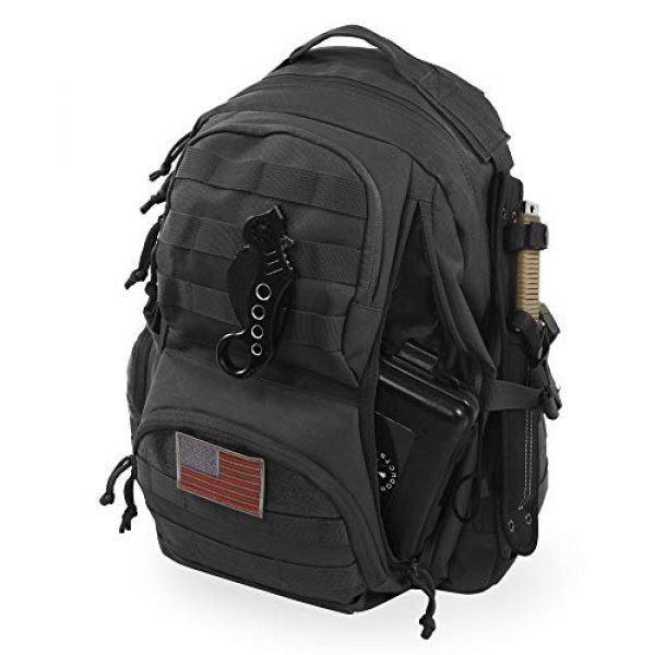 HIGHLAND TACTICAL Tactical Backpack 1 Crusher Tactical Backpack