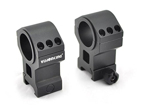 Visionking Rifle Scope 4 Visionking Rifle Scope 2.5-35x56 Trajectory Lock Tactical with a Honeycomb Sunshade Killflash and mounting Rings