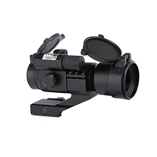 DJym Rifle Scope 3 DJym HD Blue Film Without Magnification, Inner Red Dot Sight with Red Professional Shockproof Waterproof Anti-Fog Sight