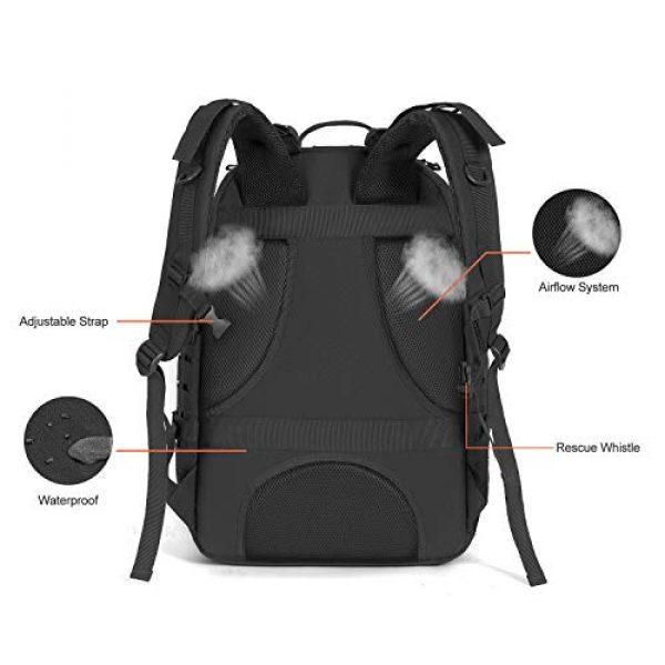 MOSISO Tactical Backpack 4 MOSISO Tactical Backpack, 3 Day Molle Rucksack Hiking Daypack Men Shoulder Bag