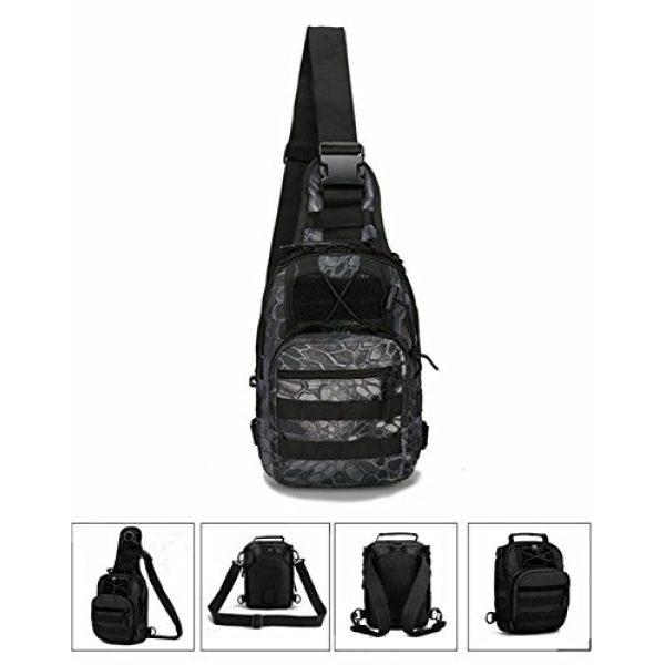 Mcdobexy Tactical Backpack 3 Mcdobexy Unisex Molle Tactical Assault Sling Bag