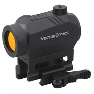 Vector Optics Rifle Scope 1 Vector Optics Harpy 1x22 AR Red Dot Sight Scope with QD Riser Picatinny Mount