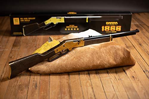 Bear River Air Rifle 5 Barra 1866 Cowboy Series Lever Action Multi Pump BB and Pellet Air Rifle