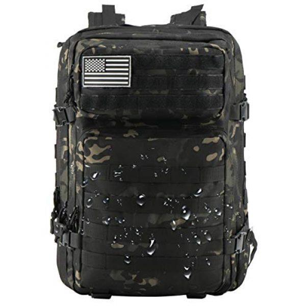 Luckin Packin Tactical Backpack 7 Luckin Packin Tactical Backpack,Military Backpack,Molle Bag 45 Liter Large 2 Pack
