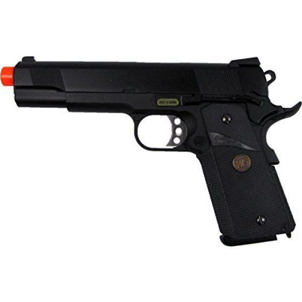 WE Airsoft Pistol 1 WE meu 191 gas blowback full metal - black by we(Airsoft Gun)