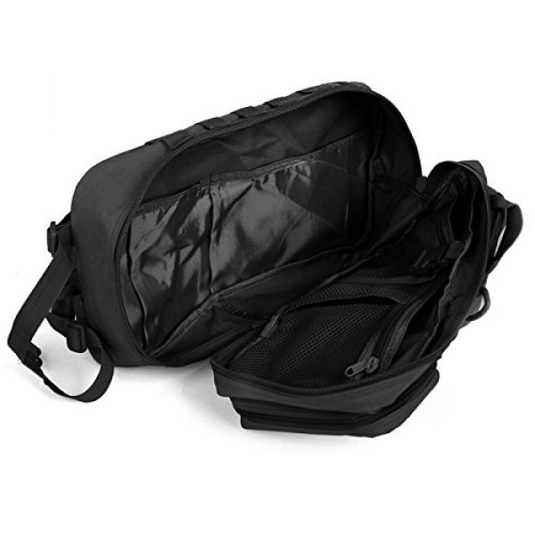 ABENAKI Tactical Backpack 7 ABENAKI Tactical Sling Bag Pack Military Rover Shoulder Backpack Bowmen Bag