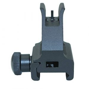 Funpower Rifle Sight 1 Funpower Low Profile Front Iron Sight with A2 Square Post Assembly, Black