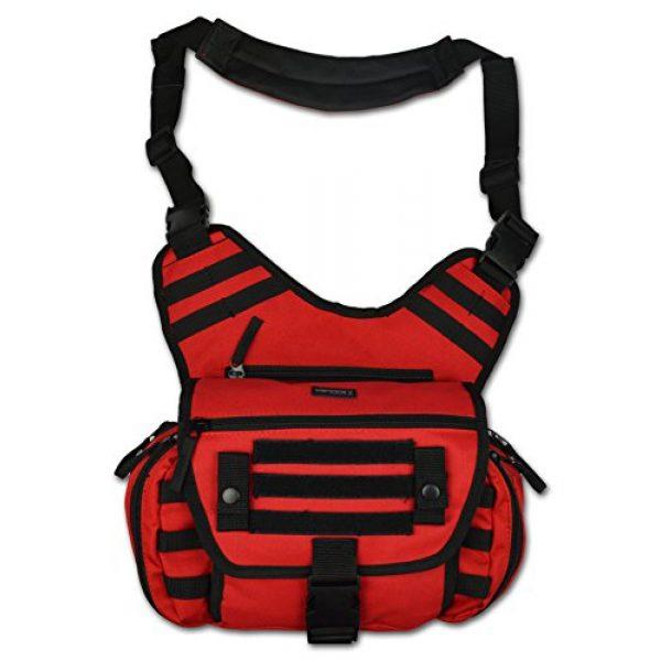 Lightning X Products Tactical Backpack 1 Lightning X Tactical Medic EMS/EMT Messenger Shooter Hiking Shoulder Sling Pack Gear Bag