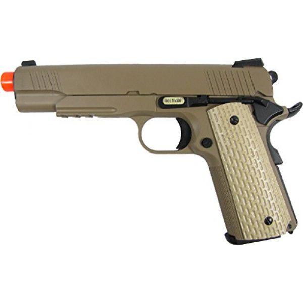 WE Airsoft Pistol 1 WE combat 191 gas blowback full metal - tan(Airsoft Gun)