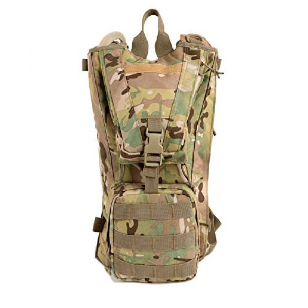 MT Tactical Backpack 4 MT Military FILBE Hydration Carrier Army Tactical Backpack with Bladder Multicam