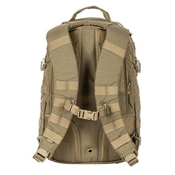 5.11 Tactical Backpack 4 5.11 Tactical RUSH72 Military Backpack, Molle Bag Rucksack Pack, 55 Liter Large, Style 58602