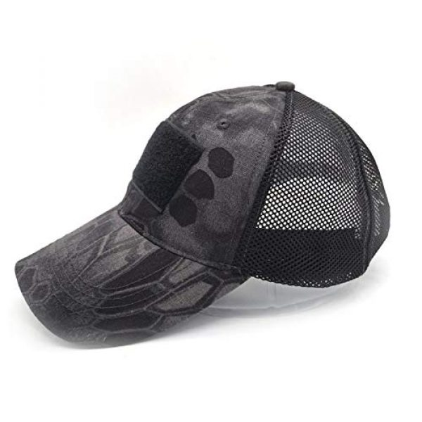 Uphily Tactical Hat 3 Uphily Military Patch Hat, Operator Cap, Tactical Army Hats for Men