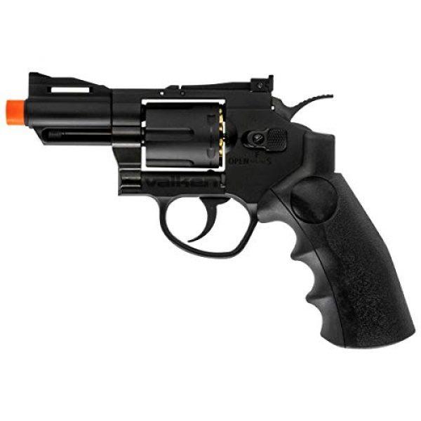 """Valken Airsoft Pistol 1 Valken Airsoft Revolver Full Metal C02 6mm (2"""")"""