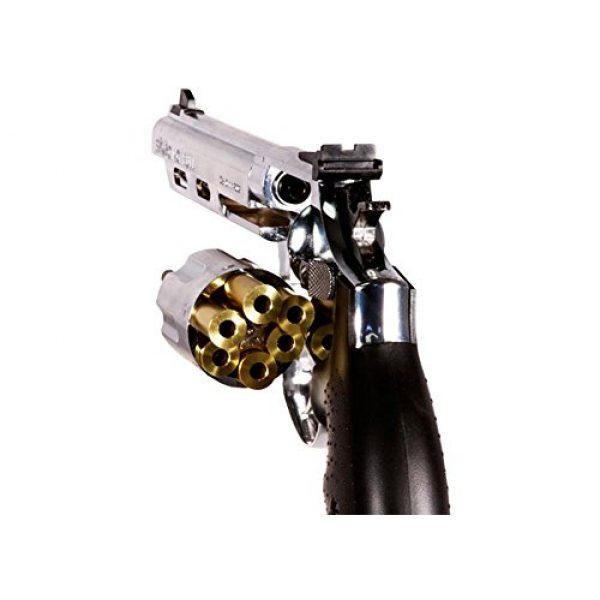HFC Airsoft Pistol 4 HFC hg-133 6 barrel gas revolver, silver airsoft gun(Airsoft Gun)