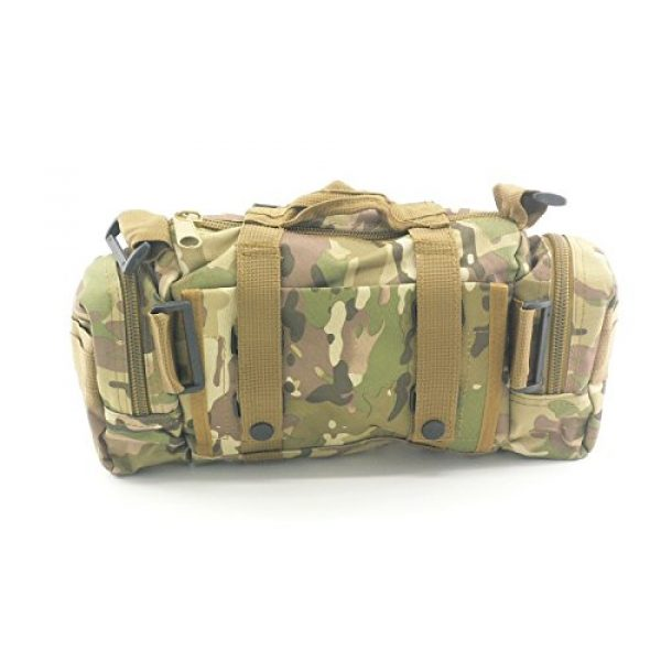 Acme Approved Tactical Backpack 3 Acme Approved Durable 600D Waterproof Fablic Utility 3P Military Tactical Duffle Waist Bags (CP Camo)