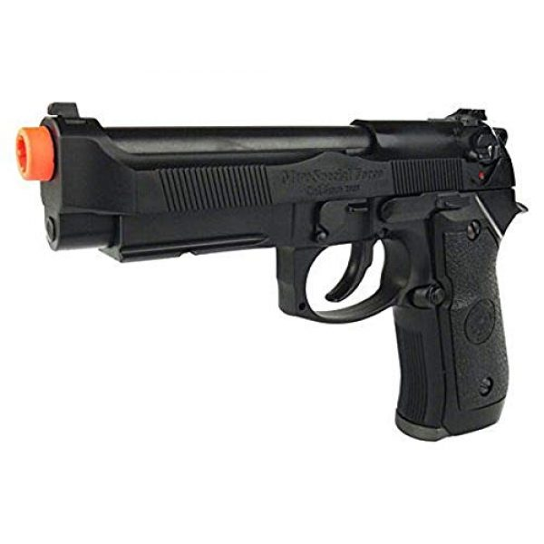 HFC Airsoft Pistol 2 HFC HG-190 Airsoft GBB BLOWBACK CO2 Pistol Black M190 with Gun Case