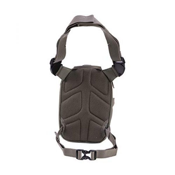 Allen Company Tactical Backpack 6 Allen Company Shocker Cut-N-Run Turkey Hunting Pack - 3in1 Functionality: Thigh Pack, Sling Pack, Chest Pack - Multi Functional -9 Features, Camo 19170 One Size