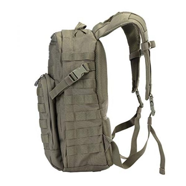 JINFIRE Tactical Backpack 3 JINFIRE Military Tactical Backpack Molle Bag Backpacks Assault Pack Army Rucksacks for Hiking, Camping, Trekking, 24.2L