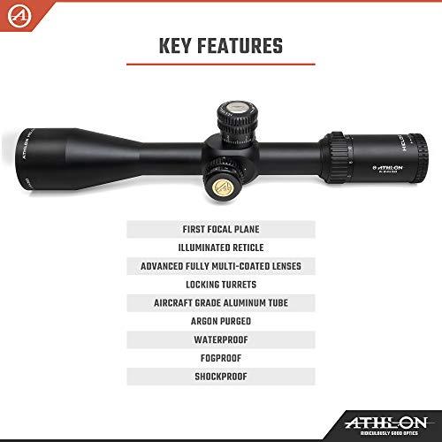 Athlon Optics Rifle Scope 3 Athlon Optics Helos BTR 6-24x50 First Focal Plane Riflescopes