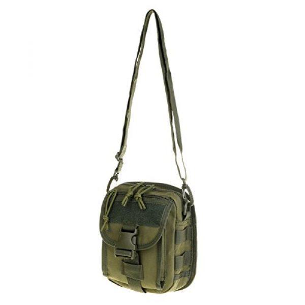 ABD Tactical Backpack 3 ABCAMO Nylon Waterproof Solid Color Outdoor One Shoulder Tactical Sport Bag