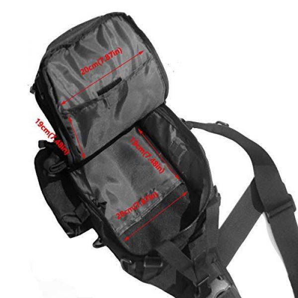 TAK YIYING Tactical Backpack 3 Tactical Sling Backpack Waterproof Shoulder Bag With Waterproof Rainproof Backpack Pack Cover (Black)