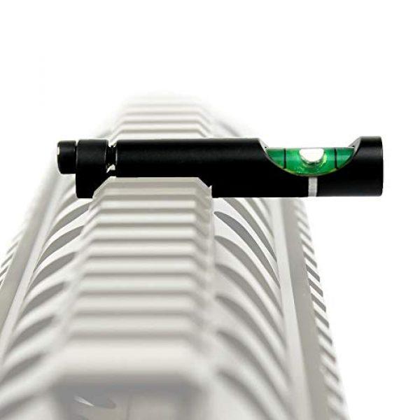 COLIBROX Rifle Scope Accessory 3 Metal Spirit Bubble Level for 20 mm Picatinny Weaver Rail Rifle Sight Scope Mount