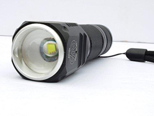 Acid Tactical Flashlight 5 Acid Tactical Compact LED Rifle Shotgun Flashlight 800 Lumens with Picatinny Mount, Battery, Pressure Switch kit