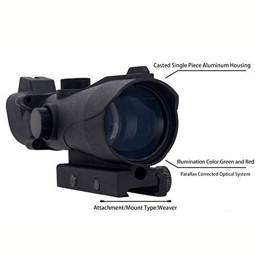Fashion Sport Rifle Scope 3 Fashion Sport Tactical Optical 2x42 Dot Sight Hunting air Gun red/Green dot Sight Magnification Scope for Airsoft Hunting