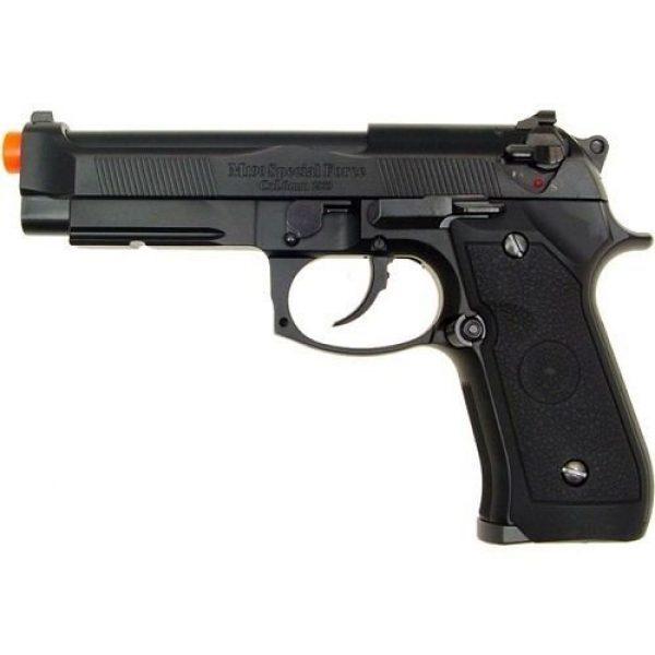 TSD Airsoft Pistol 7 hfc m190 abs gas pistol rail/semi auto abs ver. - 0.240 caliber(Airsoft Gun)