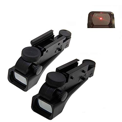 KTAIS Rifle Scope 3 KTAIS 10mm / 20mm Reflection Red Dot Line of Sight Length 42mm / 1.65in Red Dot Plastic Black Red Dot Sight Hunting Accessories (Color : 20mm)