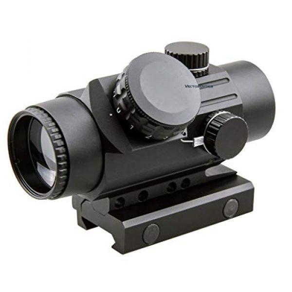 Vector Optics Rifle Scope 1 Vector Optics Calypos 1x30mm, Red Illuminated BDC Reticle, Second Focal Plane (SFP), 1/2 MOA Compact Tactical Prism Riflescope