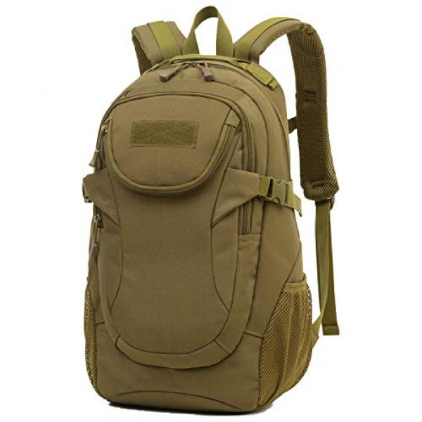 RUI NUO Tactical Backpack 1 RUI NUO 35L Military Backpack Tactical Backpack Army Backpack MOLLE Assault Backpack Tactical Combat Backpack Emergency Bag for Hunting Hiking Camping & Outdoor Activity