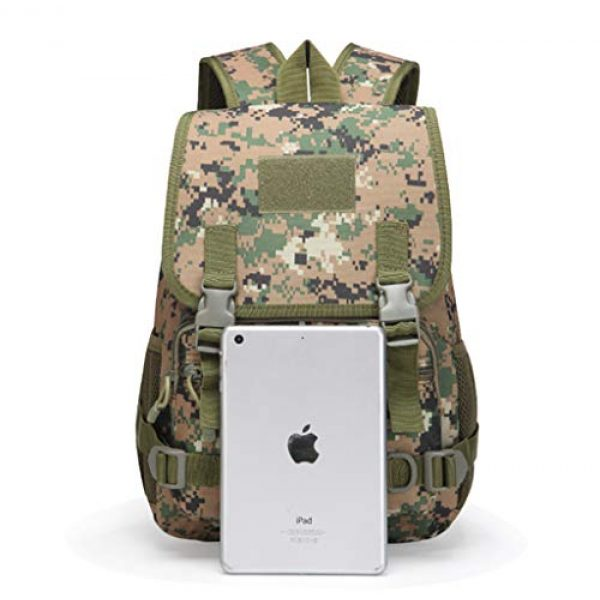 Jipemtra Tactical Backpack 5 Tactical First Aid Bag MOLLE EMT IFAK Backpack Military Emergency (Tan Summer)