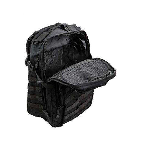 TLO Outdoors Tactical Backpack 3 TLO TacPack24 Tactical Backpack - 40L Storage Daypack, Rucksack with MOLLE, Patches