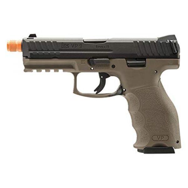Elite Force Airsoft Pistol 1 Elite Force HK Heckler & Koch VP9 GBB Blowback 6mm BB Pistol Airsoft Gun, FDE, Multi, One Size (2275025)