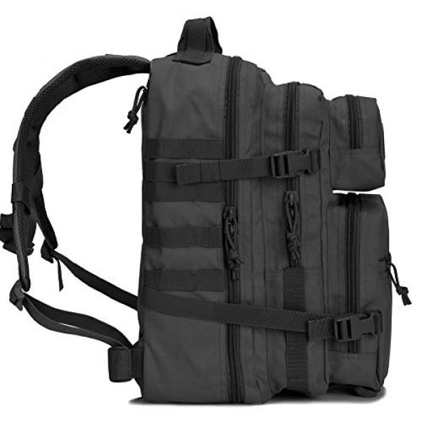 BOW-TAC Tactical Backpack 5 BOW-TAC Military Tactical Backpack Small Assault Pack Army Molle Bag Backpacks
