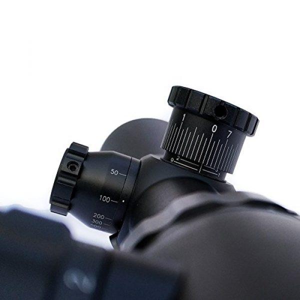 SECOZOOM Rifle Scope 7 SECOZOOM on sale Innovative Turrets 4-48x65 Long Range Sniper Mil Dot Reticle Scope 34mm Aluminium Alloy W/Sunshade Optical Sight for Shooting Hunting Tactical