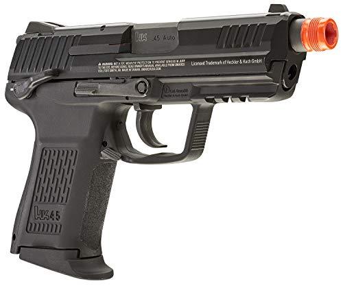 Umarex Airsoft Pistol 4 Umarex HK Heckler & Koch HK45 GBB Blowback 6mm BB Pistol Airsoft Gun, Black, HK45 Compact GBB, one Size (2275034)