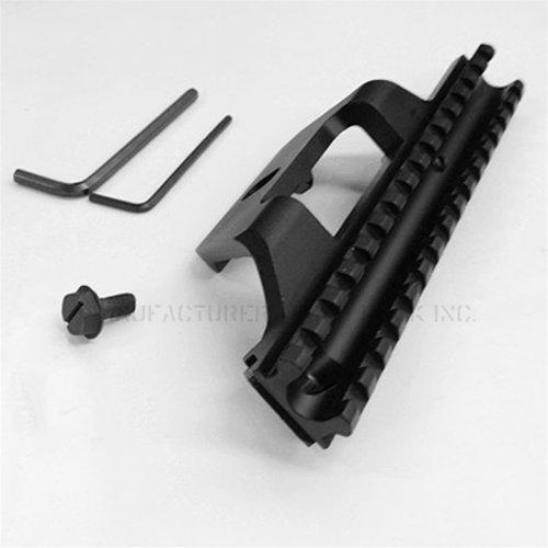 TACBRO Rifle Scope 2 Low Profile See-thru Scope Mount fit the Springfield .308 rifle like socom 16