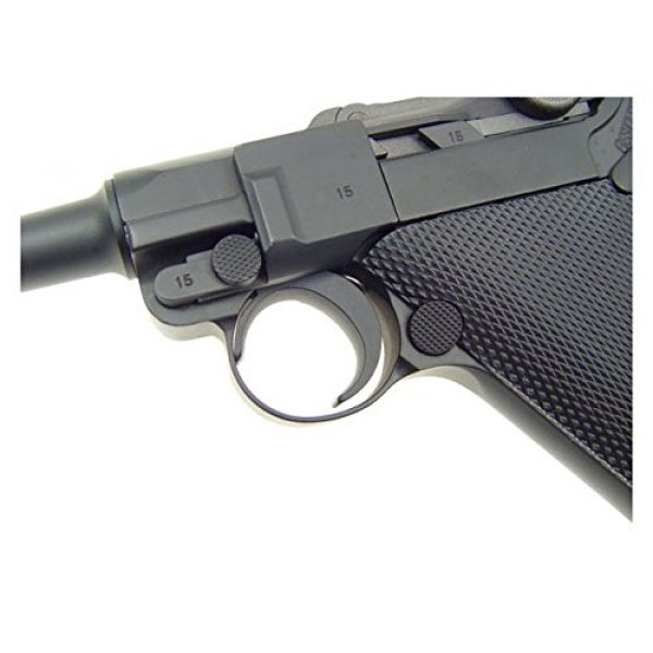 WE Airsoft Pistol 3 gbb-408l - WE full metal semi auto gas blowback pistol with free target trip tent and safety shooting glasses(Airsoft Gun)
