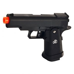SPRING AIRSOFT GUN Airsoft Pistol 1 spring airsoft gun g.10 zinc alloy shell heavy duty metal pistol with free 1000 bb's bullets ammo(Airsoft Gun)