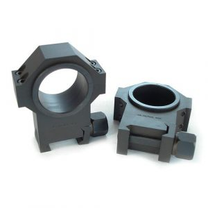 """US Tactical Systems Rifle Scope 1 US Tactical Systems Steel 30 mm Scope Rings w/1"""" Inserts 1.270"""""""