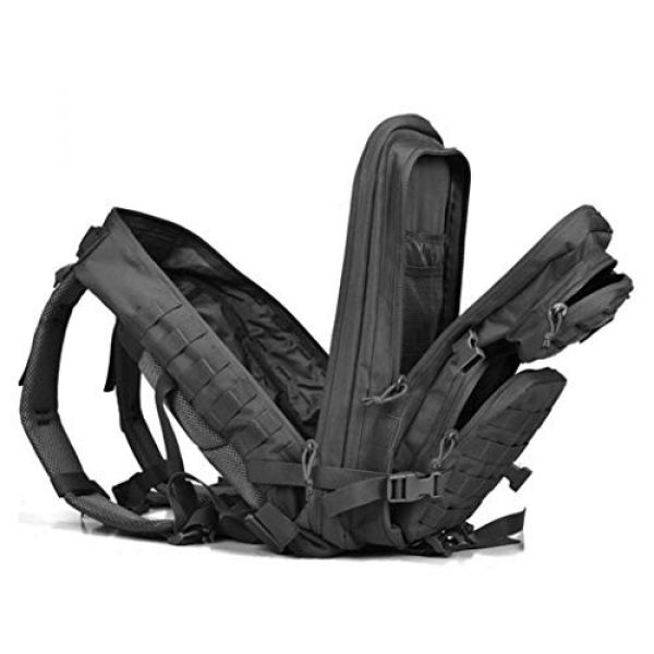 Dunnta Tactical Backpack 2 Dunnta Tactical Backpack, 3 Day Assault Pack Molle Bug Out Bag 42L Military Backpack for Hiking Camping Trekking Hunting
